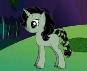 Mika als Pony