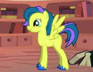Nuora als Pony