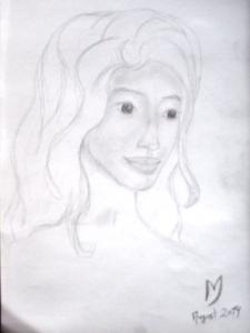 Skizze / Portrait von Eske