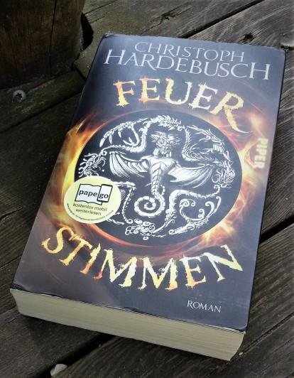 Buch: Feuerstimmen von Christoph Hardebusch